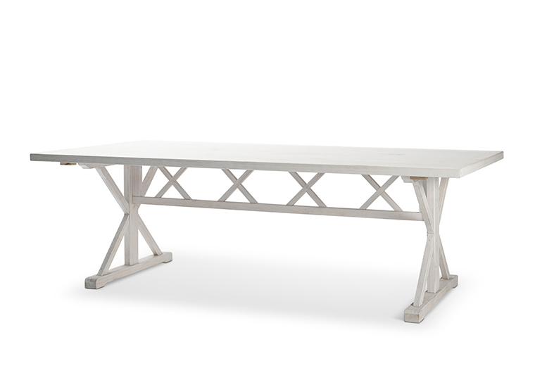 Whitewash Farm Dining Table