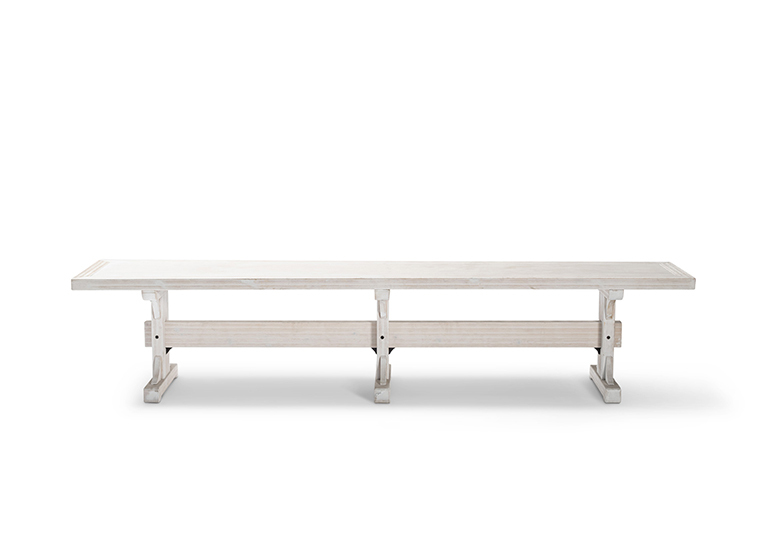 Bench White Lounge 2280 1620