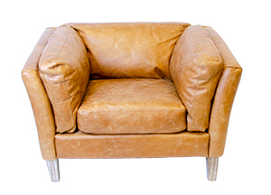 Brown Leather Chair View 2 300X