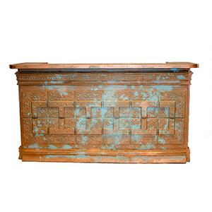 Vintage Ceiling Tile Bar - Copper