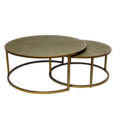 Two Piece Round Coffee Table 300X300