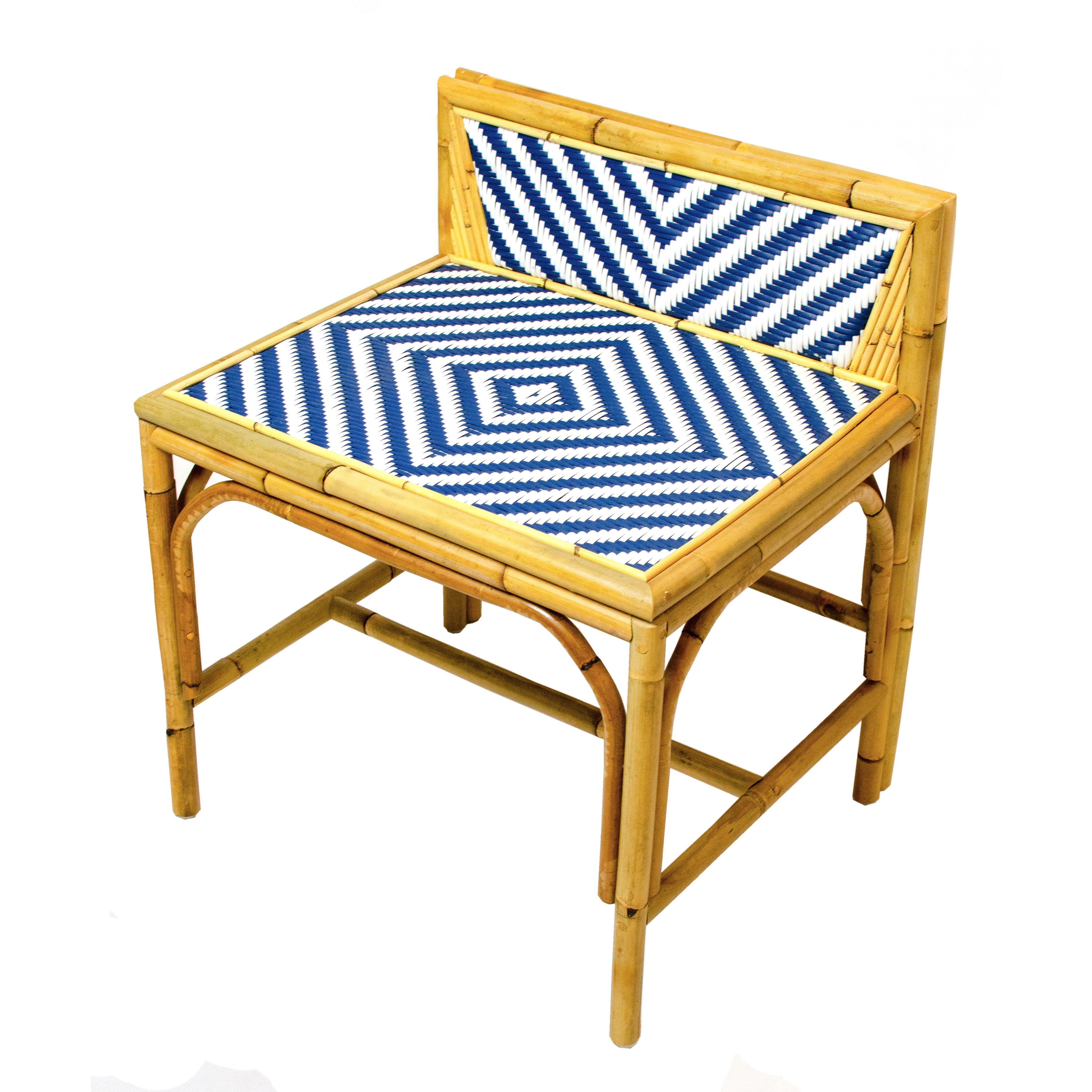 Low Back Rattan Chair Full