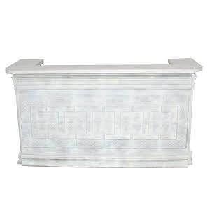Vintage Ceiling Tile Bar - White