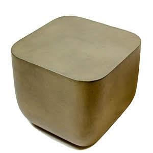 Ivan Concrete Side Table