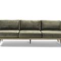 Couch Green Velvet1 Lounge 2280 1620