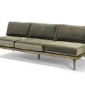 Couch Green Velvet Lounge 2280 1620