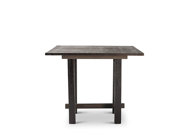 Square Mahogany Pub Farm Table
