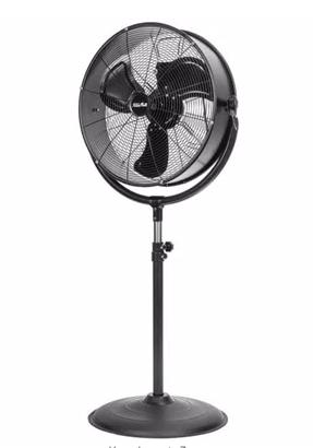 Black Pedestal Fan