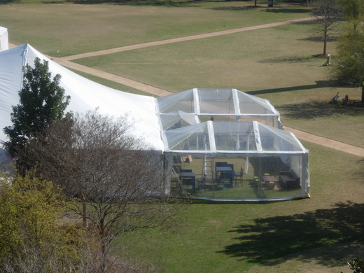 Tent Clear Top Frame Tents Snyder Events Charleston
