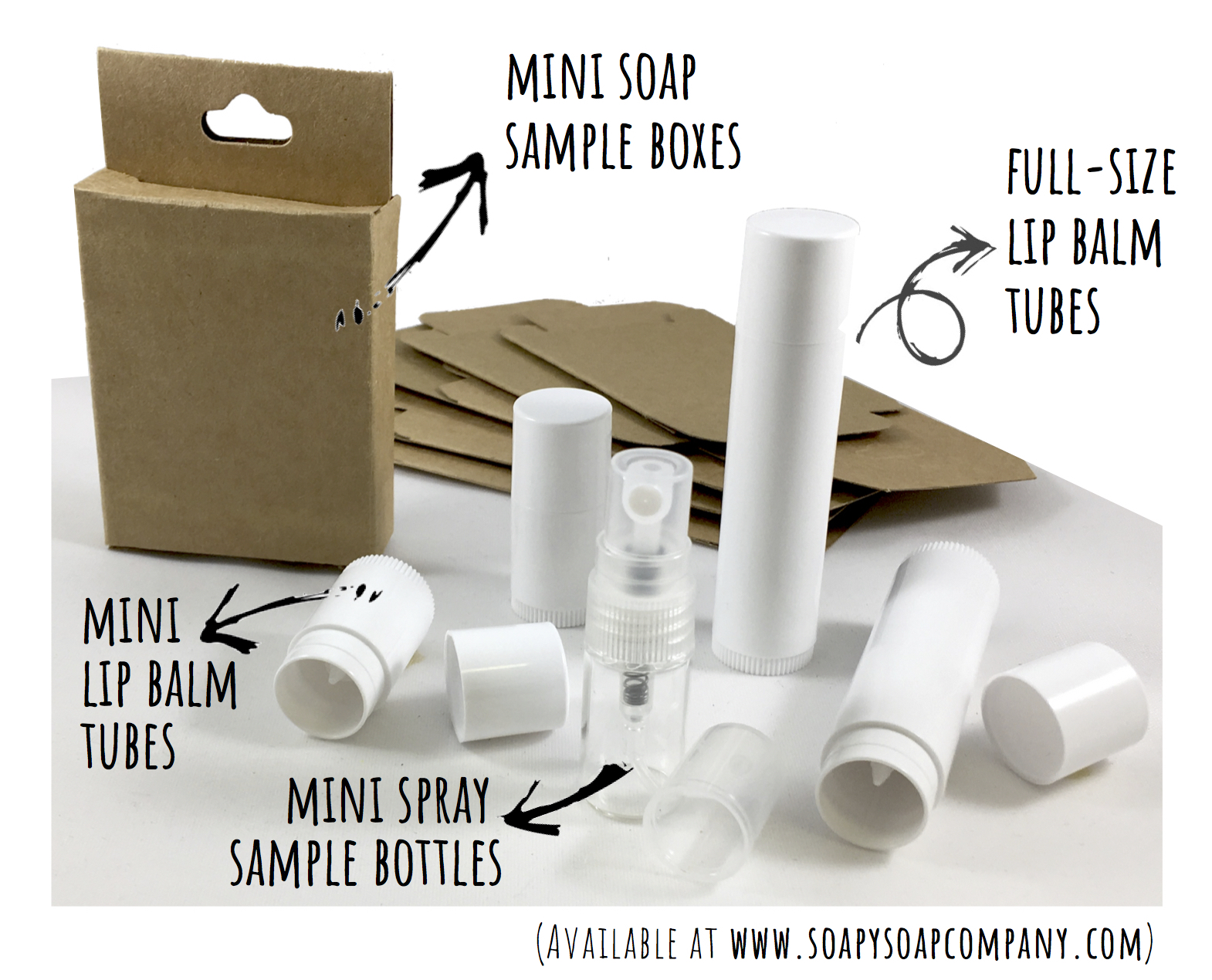 Mini Soap Sample Boxes