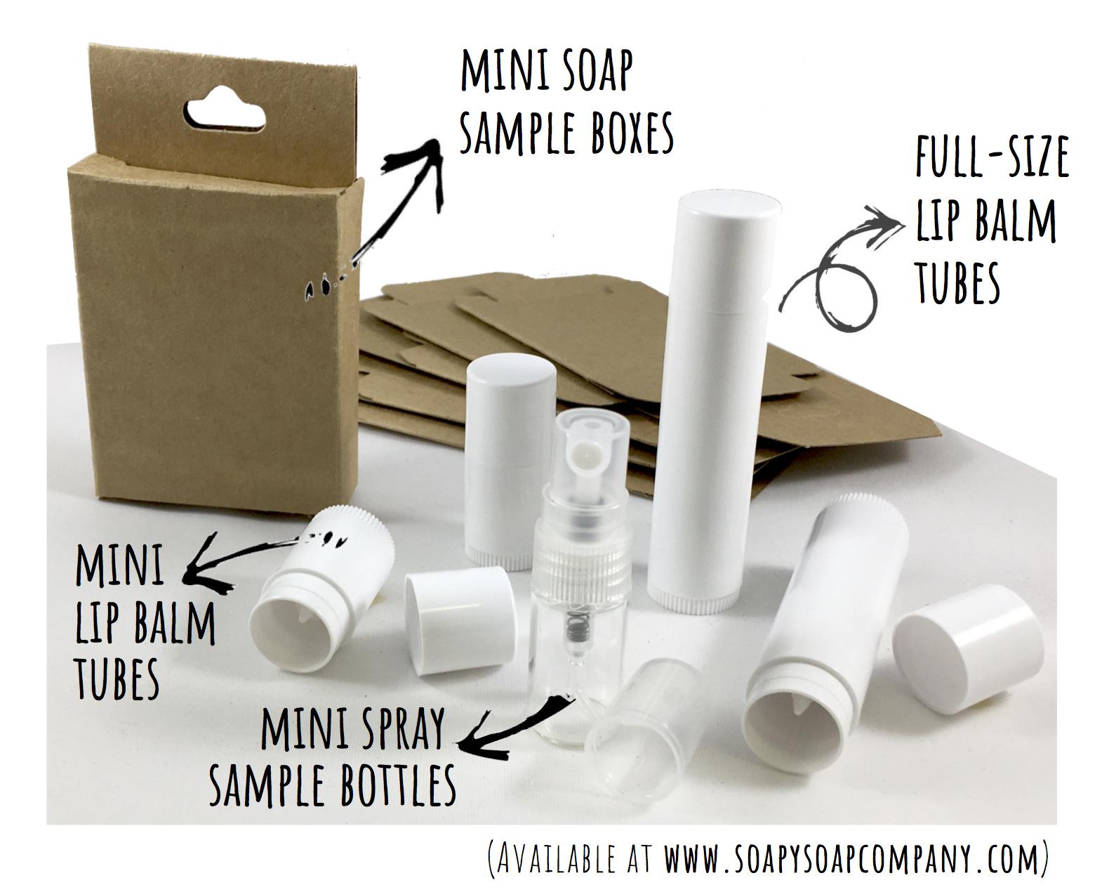 Mini Soap Sample Boxes