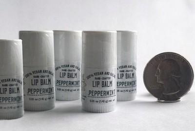 Peppermint Mini Lip Balms