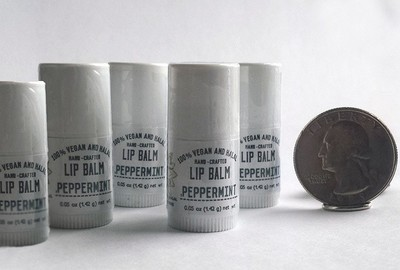 Peppermint Mini Lip Balms