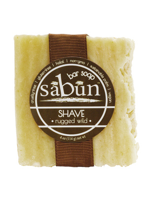 Photo of Sabun Shave - Rugged Wild by Soapy Soap Company