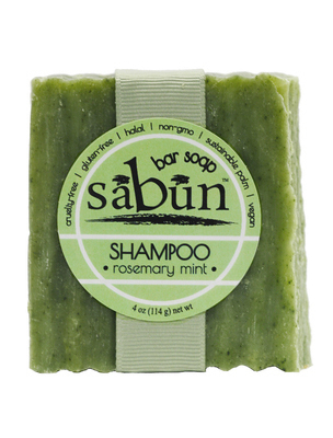 Sabun Shampoo Rosemary Mint - Front View