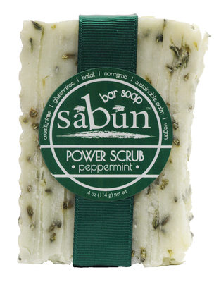 Sabun Power Scrub - Peppermint by Soapy Soap Company