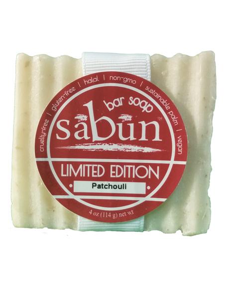 Sabun Patchouli Bar Soap by Soapy Soap Company - Front Photo View