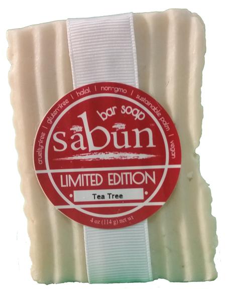 Sabun Tea Tree Bar Soap by Soapy Soap Company