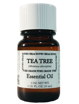 Sabun Tea Tree Essential Oil by Soapy Soap Company - Front View Photo