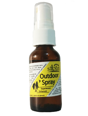 Sabun Outdoor Spray made with Essential Oils by Soapy Soap Company - Front View Photo