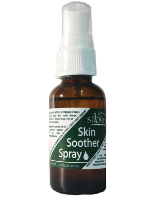 Sabun All Natural Skin Soother Essential Oil Spray by Soapy Soap Company - Front View Photo