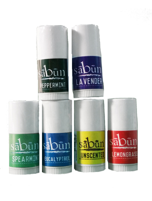 Sabun Lip Balm Mini Samples by Soapy Soap Company - Front View Photo V3