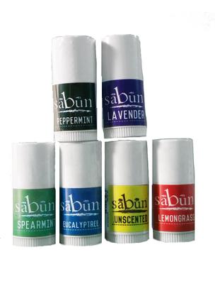 Sabun Lip Balm Mini Samples by Soapy Soap Company - Front View Photo V3