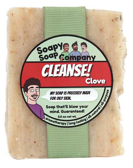 Cleanse! - Clove Bar Soap Front
