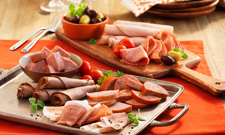 Deli meat platter beauty