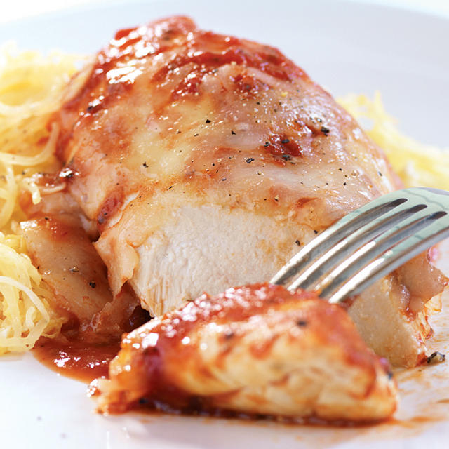 baked chicken parmesan with spaghetti squash lobster with gribiche ...