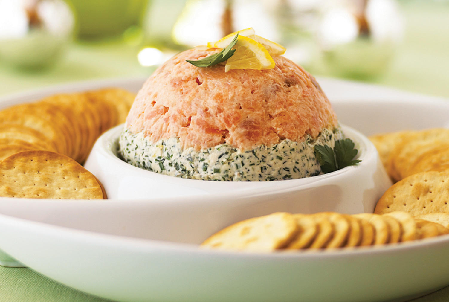 Layered Smoked Salmon Spread