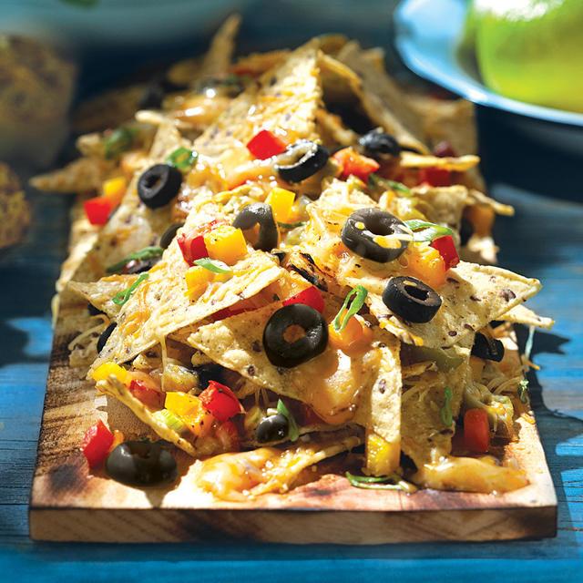 No Limits Pasta Salad No Limits Thin-Crust Chicken Pizza Lime & Mixed ...