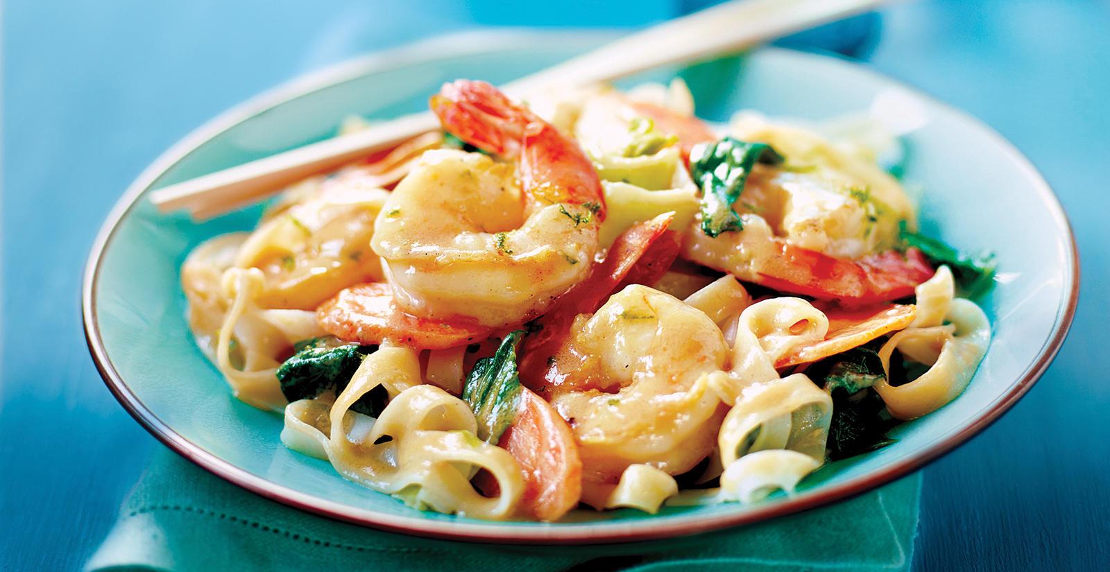 Sobeys | Peanut Shrimp with Bok Choy & Rice Noodles