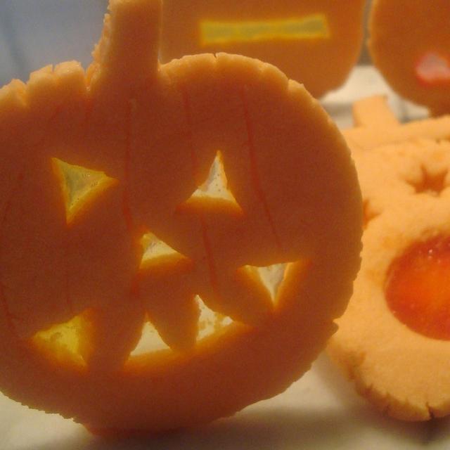 halloween jack o lantern cookies vanilla pecan pops mexican chocolate