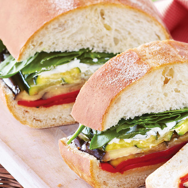 Ultimate Grilled Veggie Sandwich - Foodland: Ontario