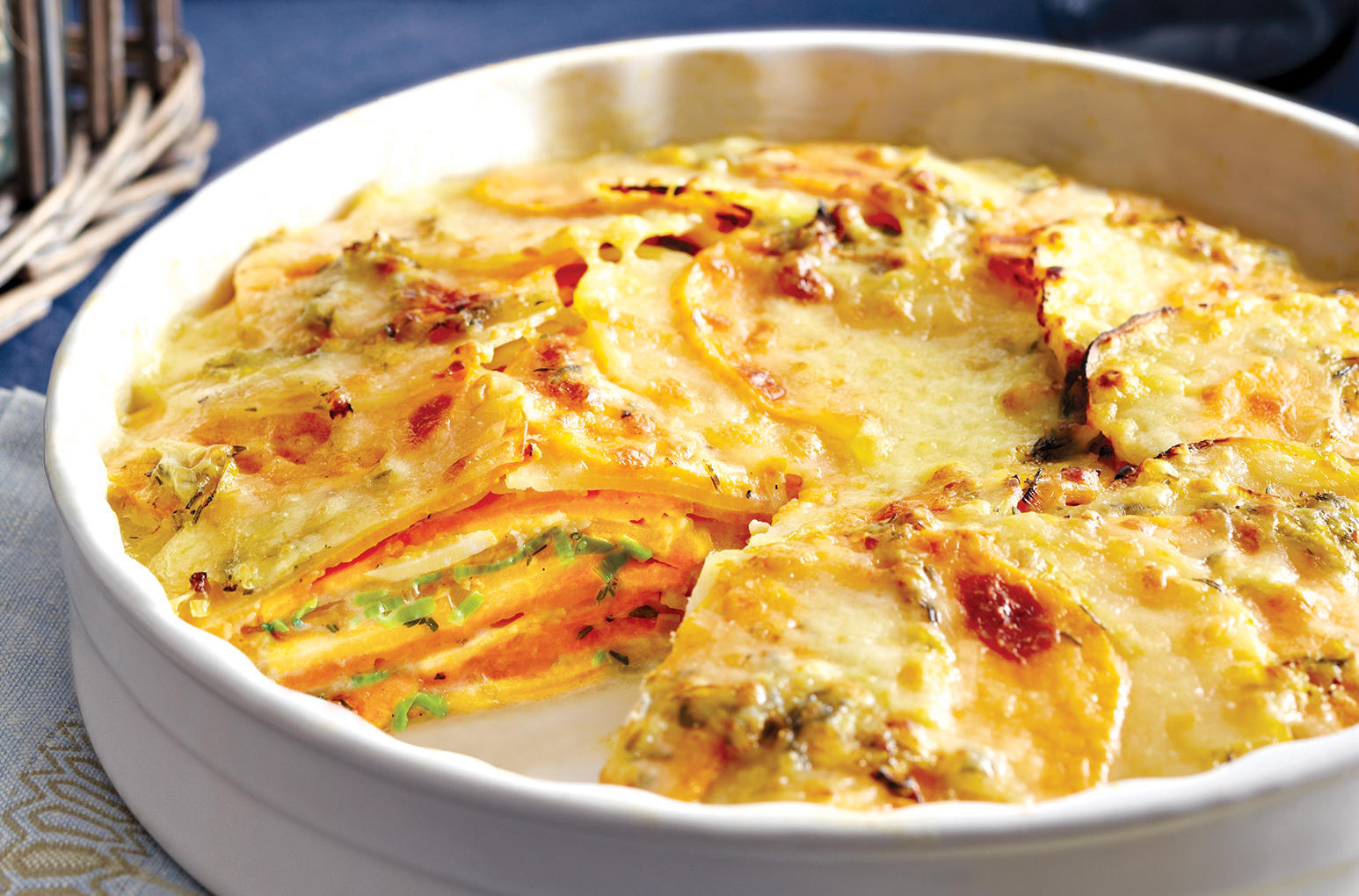 Sobeys | Yukon Gold & Sweet Scalloped Potatoes