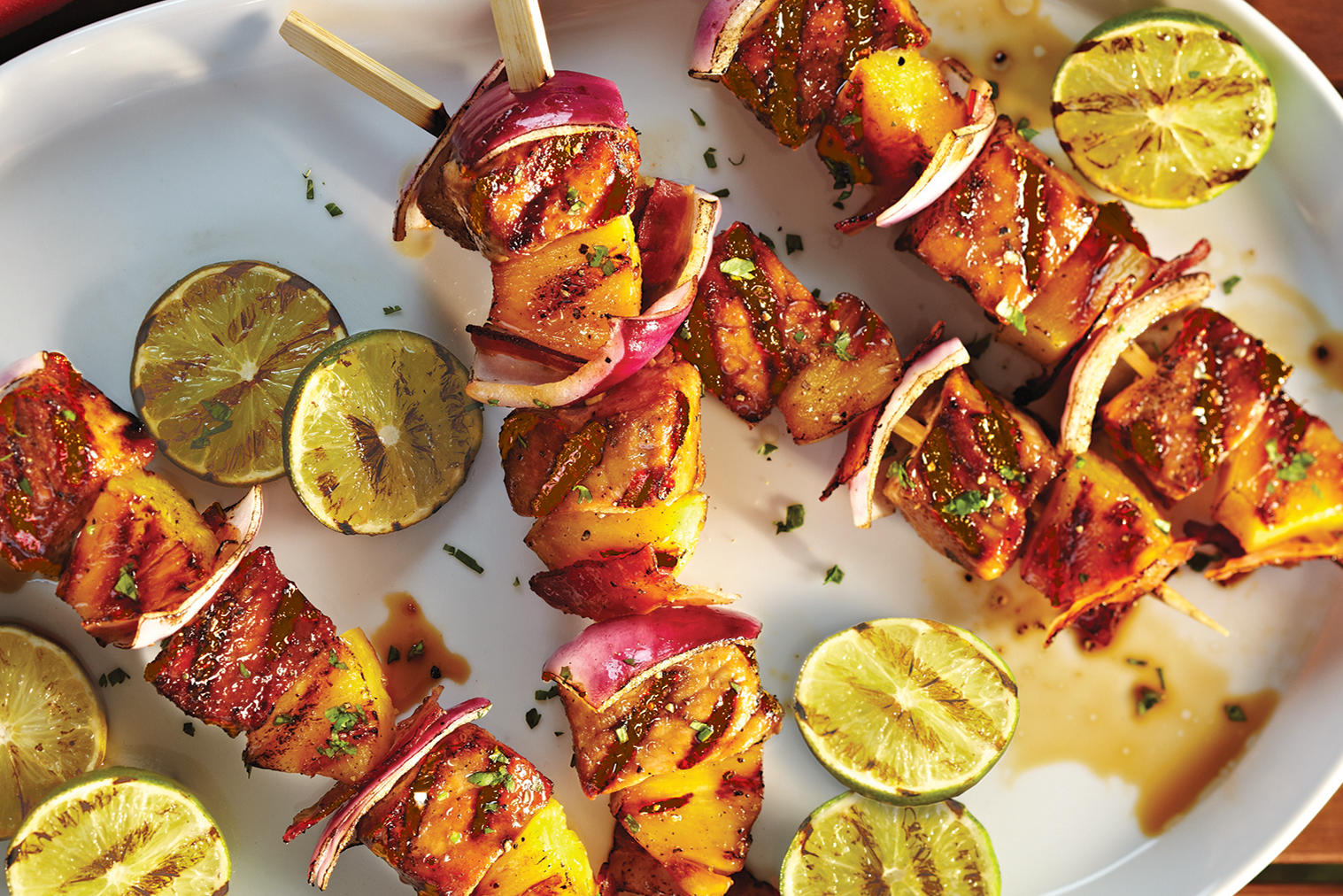 monte pineapple pork pork and pineapple kebabs pork pineapple skewers ...