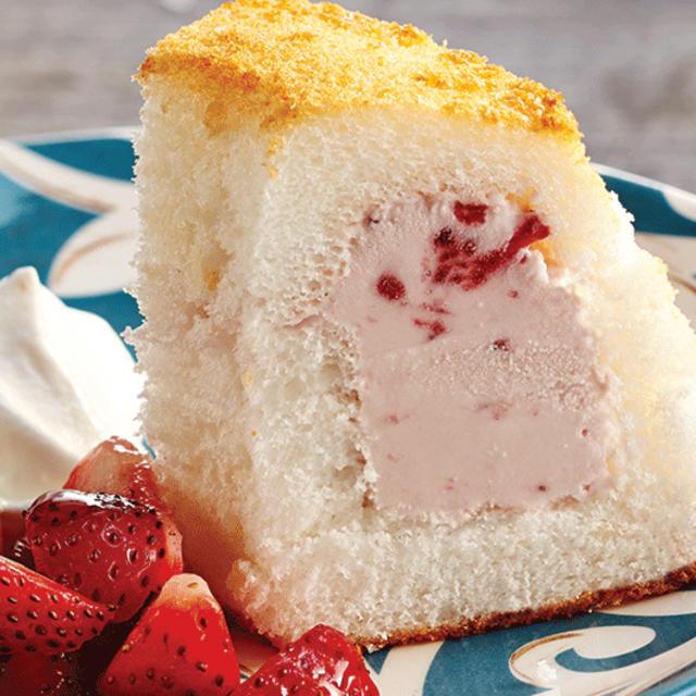 Strawberry & Angel Food Ice Cream Cake - Foodland: Ontario