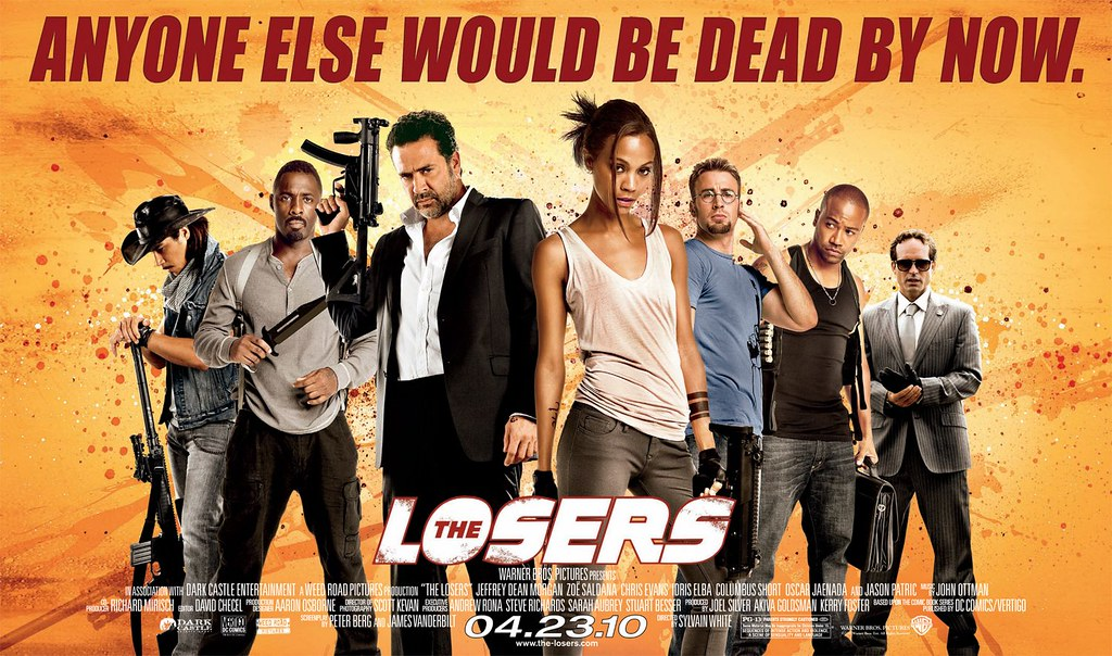 91ef8203c Movie Review Rewind: The Losers (2010) - SoBros Network
