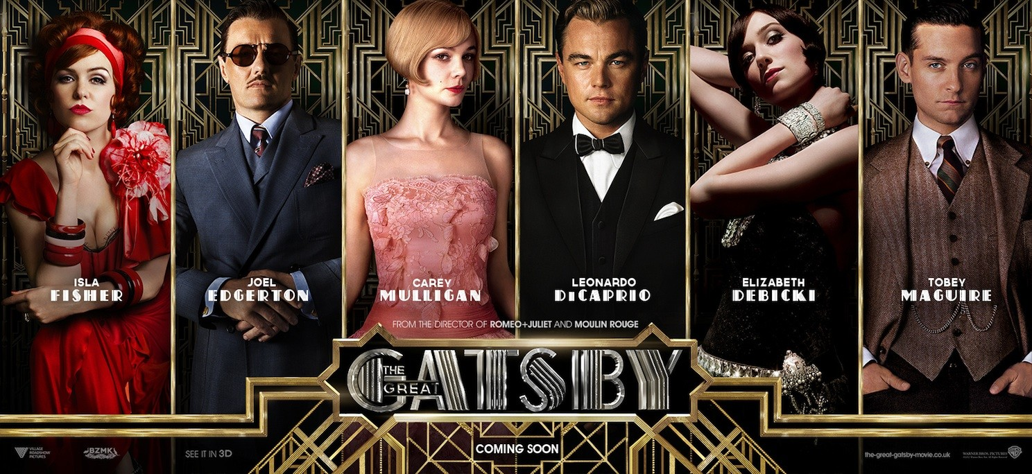 the great gatsby movie review assignment