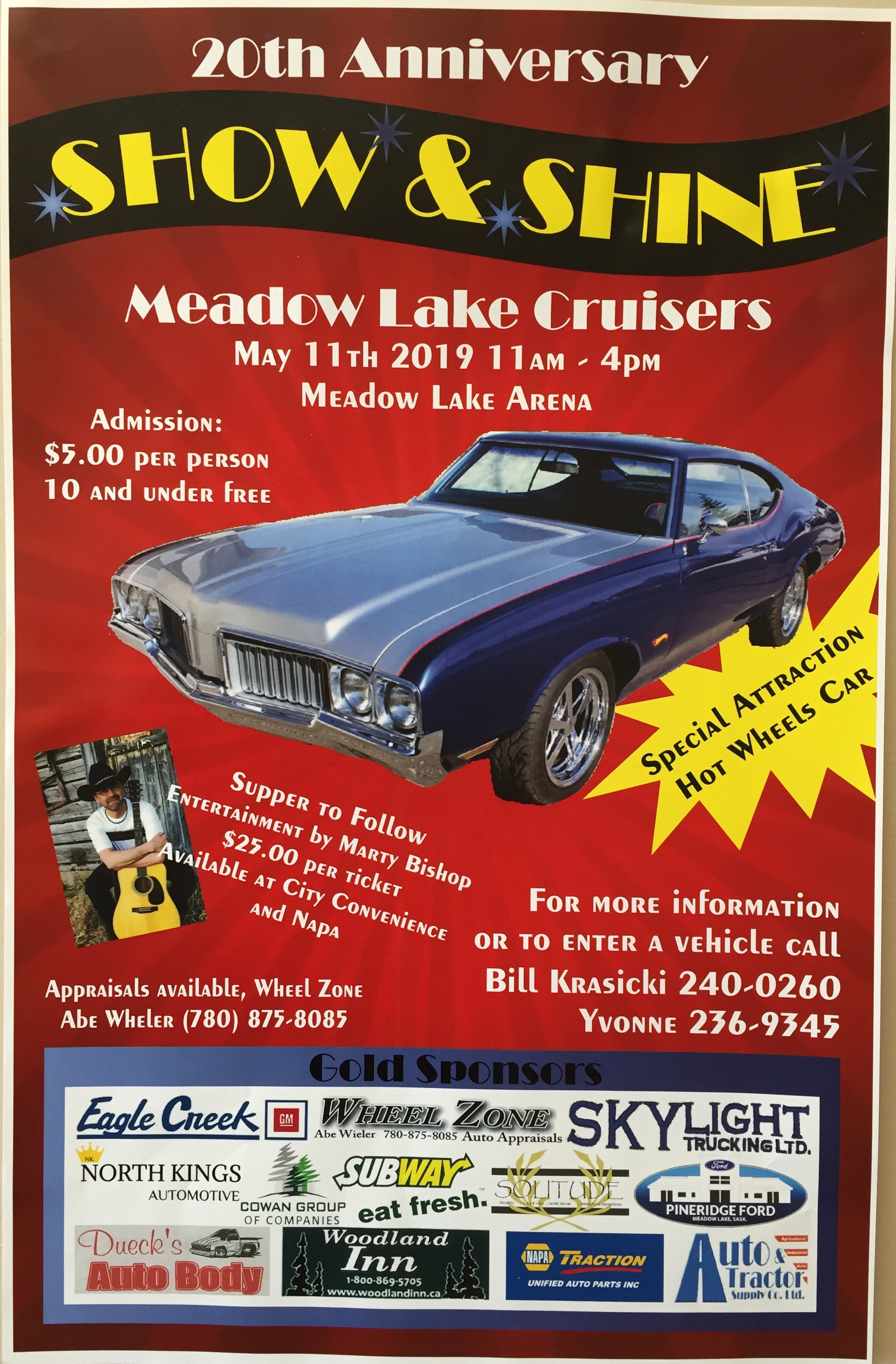 Meadow Lake Cruisers Show and Shine | battlefordsNOW | North