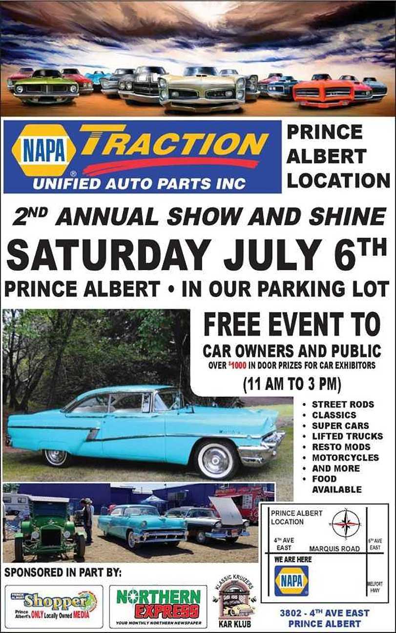 NAPA Traction Show and Shine – PA | saskNOW | Saskatchewan
