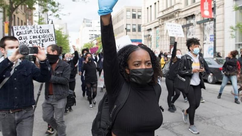 Crowds protest against anti-black racism, police impunity ...