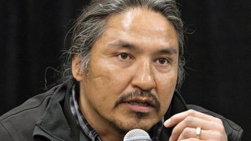 First Nations chief shown being punched by Canadian police in video