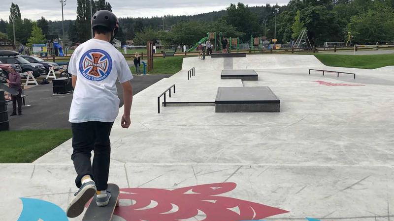 VIDEO: New high-end skate park opens at Harewood Centennial Park