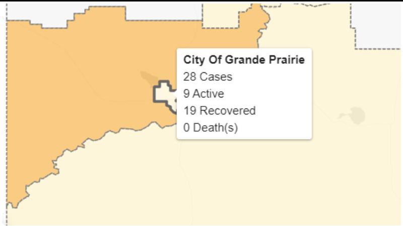 Alberta surpasses 10000 COVID-19 cases; no new cases around Lloydminster