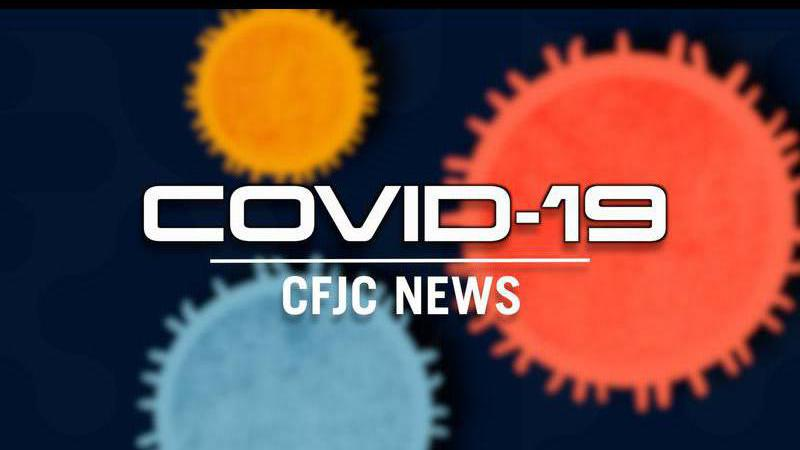COVID-19 hospitalizations in Virginia are down day-to-day
