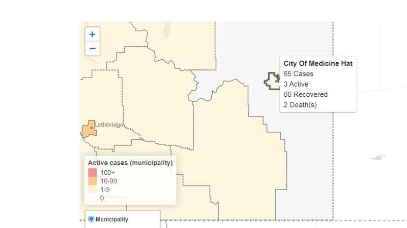 Alberta reports 76 new COVID-19 cases, three additional deaths