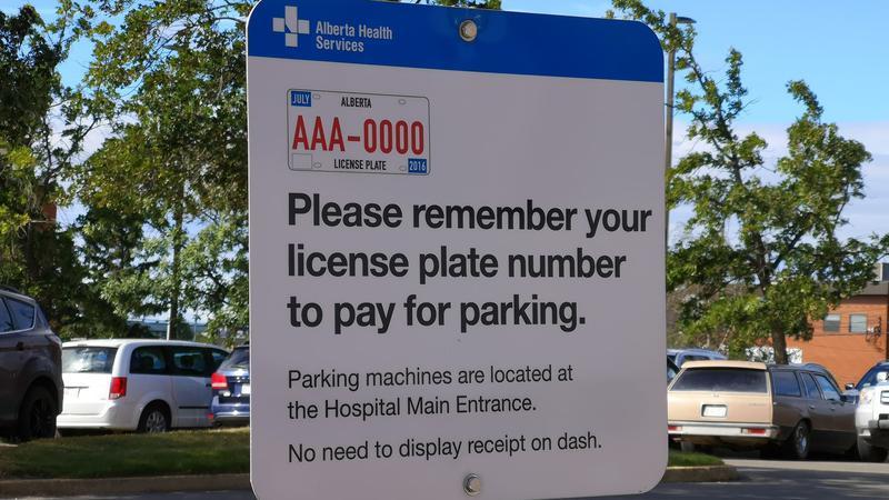 AHS reinstating parking fees at Chinook Regional Hospital
