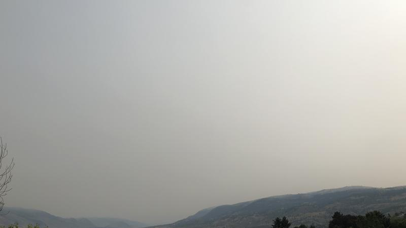 Wildfire smoke is causing decreased air quality across parts of Montana